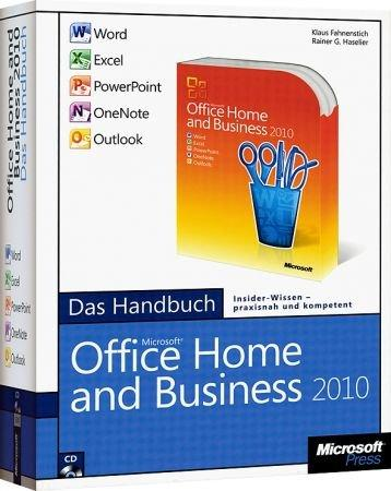 Microsoft Office Home and Business 2010 - Das Handbuch - Word, Excel, PowerPoint, Outlook, OneNote /  , 978-3-86645-397-5
