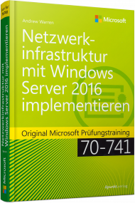 Netzwerktechnik mit Windows Server 2016, Best.Nr. MS-442, € 49,90