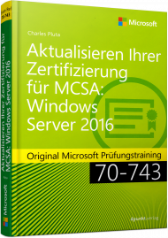 Upgraden Ihrer Zertifizierung auf MCSA Windows Server 2016, Best.Nr. MS-455, € 49,90