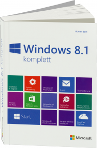 Microsoft Windows 8.1 komplett, ISBN: 978-3-86645-240-4, Best.Nr. MS-5240, erschienen 12/2013, € 19,90
