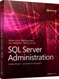 MS-5841, SQL Server Administration, Buch von MS Press (dpunkt) mit 650 S., EUR 49,90 (ET 01/19) 978-3-86490-584-1