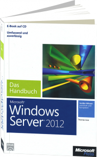 Microsoft Windows Server 2012 - Das Handbuch, Best.Nr. MSE-5159, € 47,20