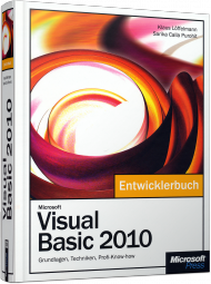 Microsoft Visual Basic 2010 - Das Entwicklerbuch, Best.Nr. MSE-5535, € 39,90