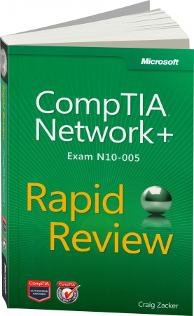CompTIA Network+ - Rapid Review Exam N10-005 / Autor:  Zacker, Craig, 978-0-7356-6683-2