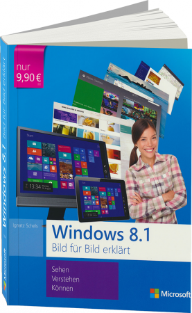 ms-5250, Windows 8.1 Bild f�r Bild erkl�rt von Microsoft-Press, 371 S., € 9,90 (ET 01/2014) 978-3-86645-250-3