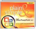 Microsoft Office PowerPoint 2007 Plain & Simple, Best.Nr. MP-2295, € 10,00