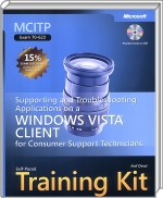 Supporting and Troubleshooting Applications on a Vista Client, Best.Nr. MP-2423, € 20,00