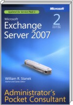 Microsoft Exchange Server 2007 Administrator`s Pocket Consultant, Best.Nr. MP-2586, € 10,00