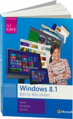 Windows 8.1 Bild f�r Bild erkl�rt, Best.Nr. MS-5250, € 9,90