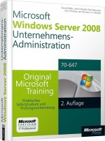 Windows Server 2008 R2 Unternehmens-Administration MCITP, Best.Nr. MS-5977, € 79,00