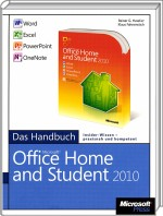 Microsoft Office Home and Student 2010 - Das Handbuch, Best.Nr. MSE-5149, erschienen 07/2010, € 19,90