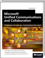 Microsoft Unified Communications and Collaboration, Best.Nr. MSE-5222, erschienen 11/2010, € 31,90