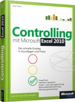 Controlling mit Microsoft Excel 2010, Best.Nr. MSE-5823, € 19,90
